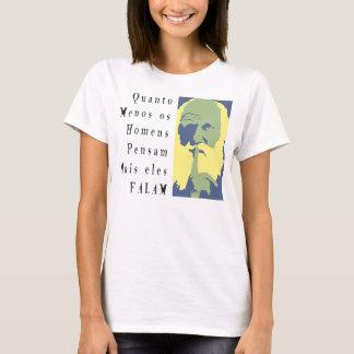 Silence, please (Feminine/Weaveeed clear) T-Shirt