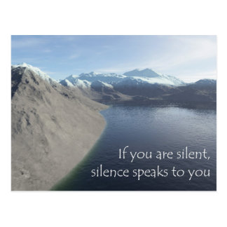 silence postales