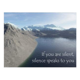 silence postales