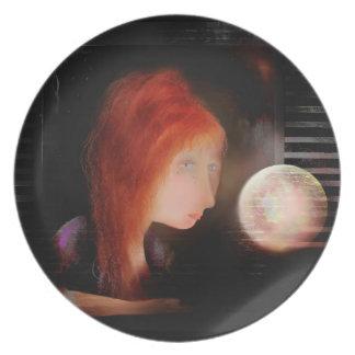 Silence & the Orb. Dinner Plate