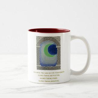 Silence Triad mug