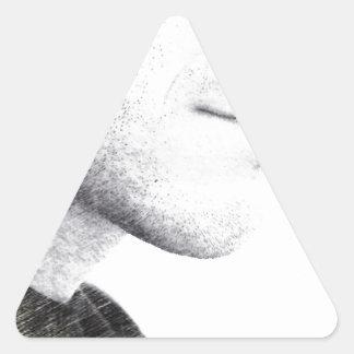 Silence Triangle Sticker