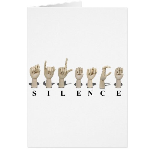 SilenceAmeslan062611 Cards