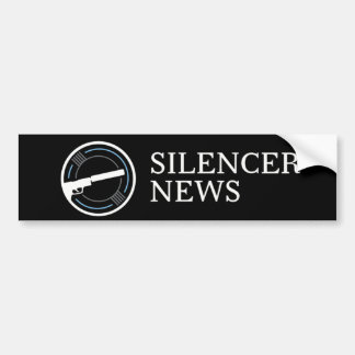 Silencer News Bumper Sticker (color logo)