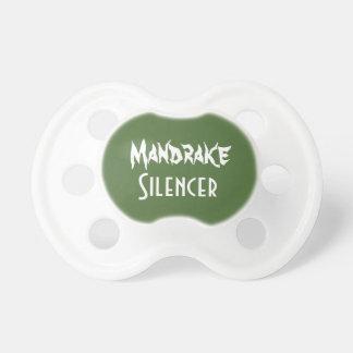 Silenciador de Mandrake Chupetes Para Bebés