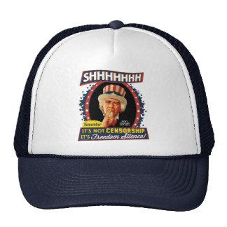 Silencio de la libertad gorra