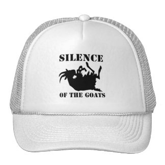 Silencio de las cabras gorra