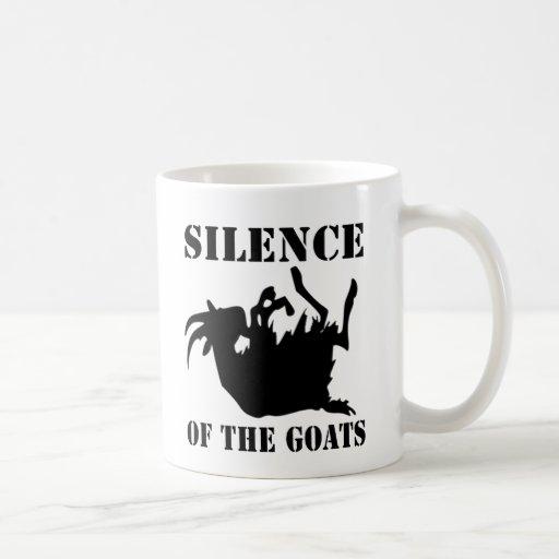 Silencio de las cabras taza