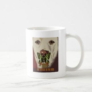 Silencio de los laboratorios taza de café