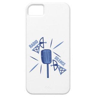 Silencio de radio iPhone 5 Case-Mate cárcasa