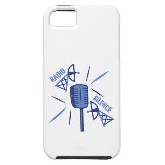 Silencio de radio iPhone 5 Case-Mate cárcasas