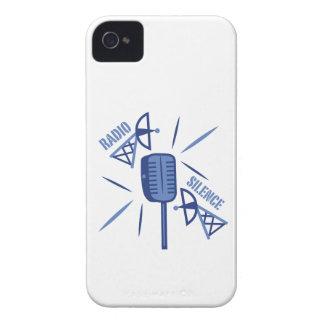 Silencio de radio iPhone 4 carcasas