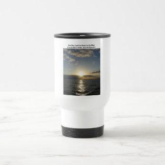 Silencio glorioso taza de viaje