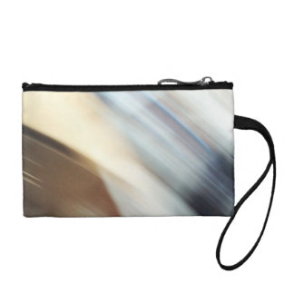 """""""Silent"""" abstract painting Change Purse"""