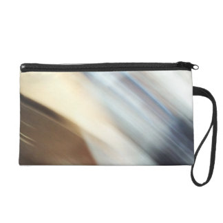 """""""Silent"""" abstract painting Wristlet Purse"""