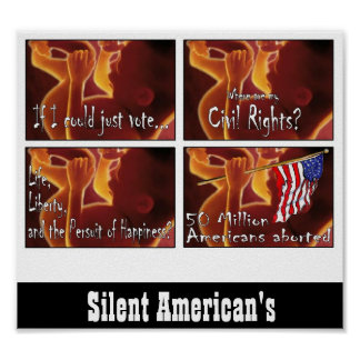 Silent Americans Poster