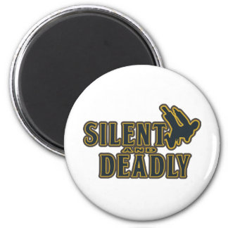 Silent and Deadly Refrigerator Magnets