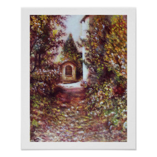 SILENT AUTUMN IN FLORENCE POSTER
