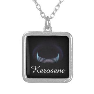 Silent burner | Kerosene Pressure Stove Silver Plated Necklace