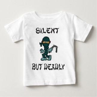 silent but deadly Ninja Fart Baby T-Shirt