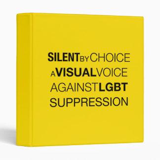 Silent By Choice Light Avery Binder