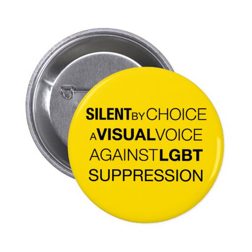 Silent By Choice Round Light Button