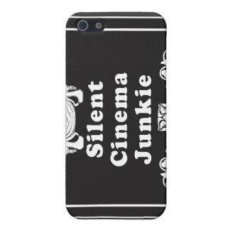 Silent Cinema Junkie iPhone 5 Cases