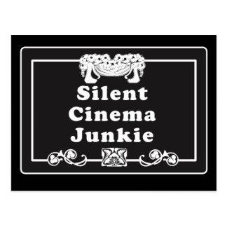 Silent Cinema Junkie Postcard