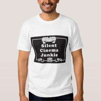 Silent Cinema Junkie Tee Shirt