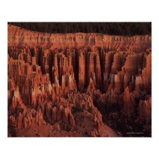 Silent City at sunrise , Bryce Canyon National Poster