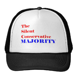 Silent Conservative  Majority Member Trucker Hat