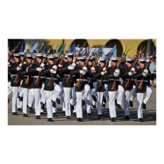 Silent Drill Team Poster