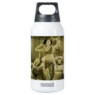 Silent Film Era Beauty Sterevoview Card Insulated Water Bottle