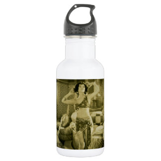 Silent Film Era Beauty Sterevoview Card Stainless Steel Water Bottle