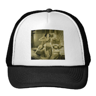 Silent Film Era Beauty Sterevoview Card Trucker Hat