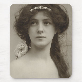 Silent Film Star Evelyn Nesbit by Sarony Mouse Pad