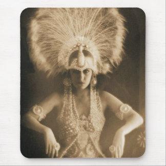 Silent Film Star Gloria Swanson Mouse Pad
