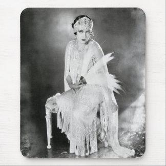 Silent Film Star Gloria Swanson Mouse Pad 2