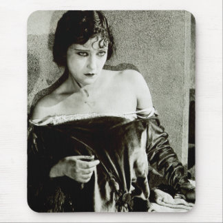 Silent Film Star Gloria Swanson Mouse Pad 3