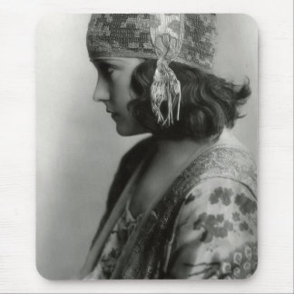Silent Film Star Gloria Swanson Mouse Pad 4