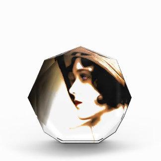 Silent Film Star Vintage 1920s Portrait Acrylic Award