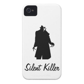 Silent Killer iPhone 4 Case-Mate Case