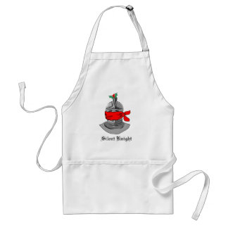 Silent Knight Adult Apron