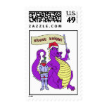 Silent Knight Postage Stamp