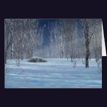 Silent Light Christmas Card
