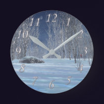 Silent Light Clock