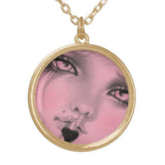 Silent Love Doll Necklace