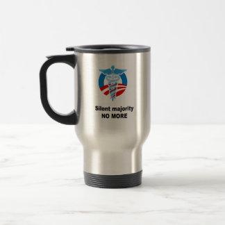 Silent majority no more coffee mug