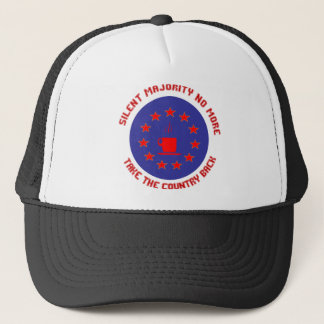 Silent Majority No More Trucker Hat