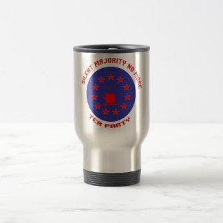 Silent Majority Tea Party Travel Mug